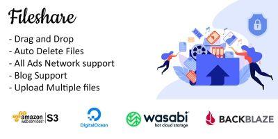 Fileshare PHP Script