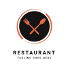 Restaurant Logo Template Design