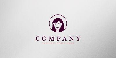 Woman Logo Template
