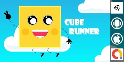Cube Runner Unity Casual Game Project With Admob