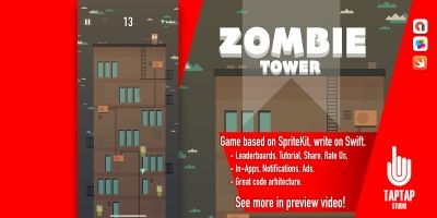 Zombie Tower - iOS Source Code