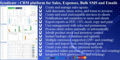 Syndicate - Sales CRM Platform