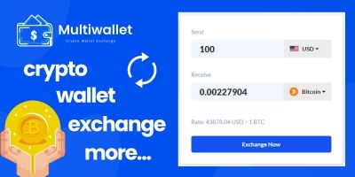 Multiwallet - Crypto Wallet With Exchange