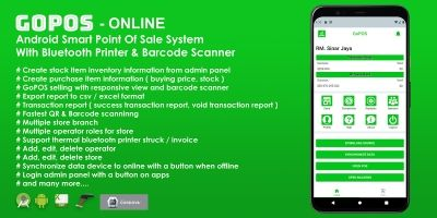 GoPOS Online -  Android Smart Point Of Sale System