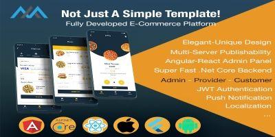 Fully Developed E-Commerce Platform - Flutter