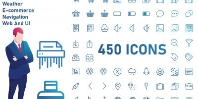 Outline - General Icon set