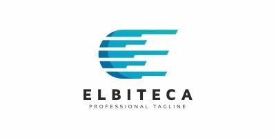E Letter Digital Logo