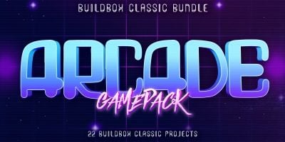 Hobiron 22 Buildbox Arcade Game Pack