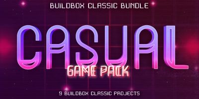 Hobiron 9 Buildbox Casual Game Pack