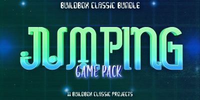 Hobiron 11 Buildbox Jumping Game Pack
