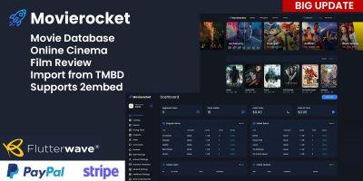 Movierocket - Online Movie Database PHP Script