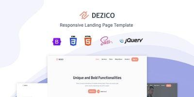 Dezico - Bootstrap 5 Landing page Template