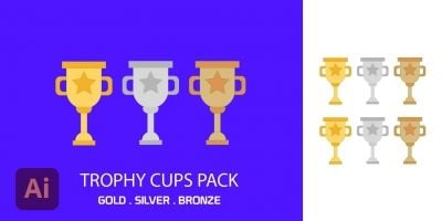 Trophy Cups Pack