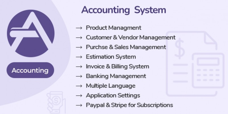 Accounting System PHP Script