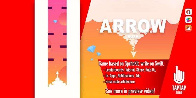 Arrow Rush - iOS App Source Code
