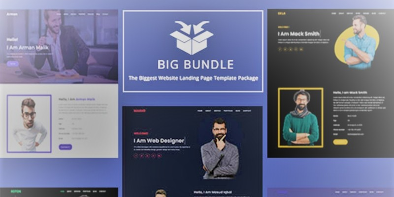 Guptil - All-in-one Landing Page Template