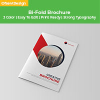 Bi-Fold Company Brochure Design
