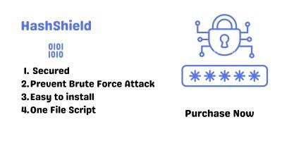 HashShield PHP Script
