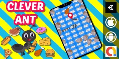 Clever Ant Unity Puzzle Game With 20 Levels
