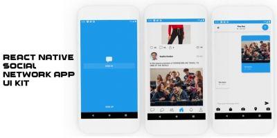React native Social Network UI Kit