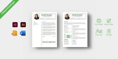 CV Resume Design Template