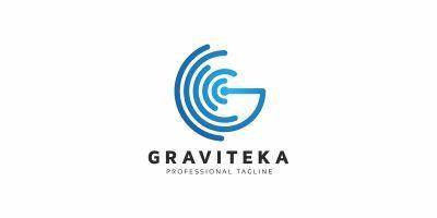 Graviteka G Letter Logo