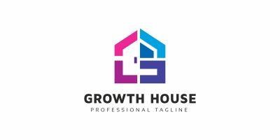 Growth House G Letter Logo