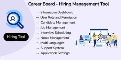 Career Board - Hiring Management Tool