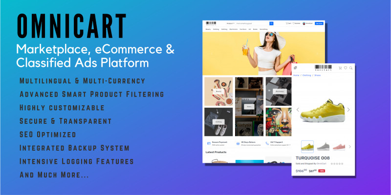 OmniCart - Marketplace And Classifieds Platform