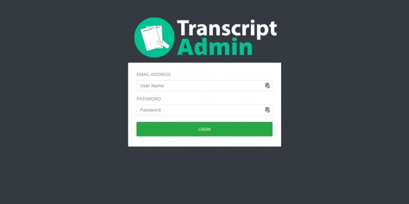 PHP Transcript University- School System