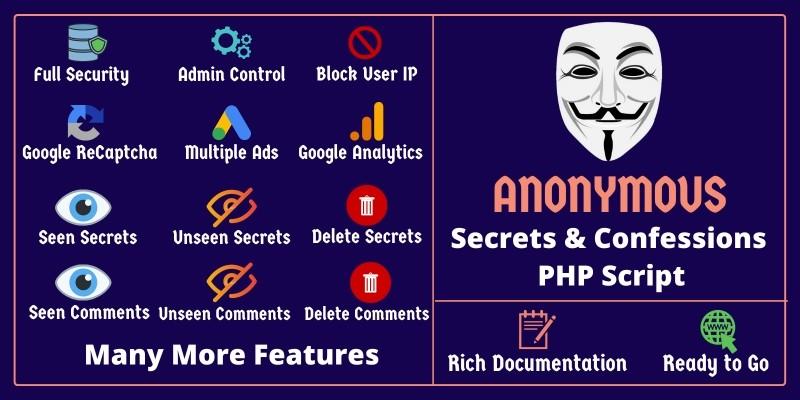 AnonymousCity - Secrets And Confessions Script