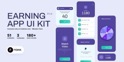 Earning App UI KIT