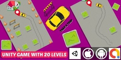 Take A Trip Unity Car Puzzle Game With 20 Levels