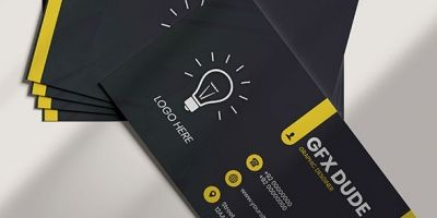 Business Card Template Professional