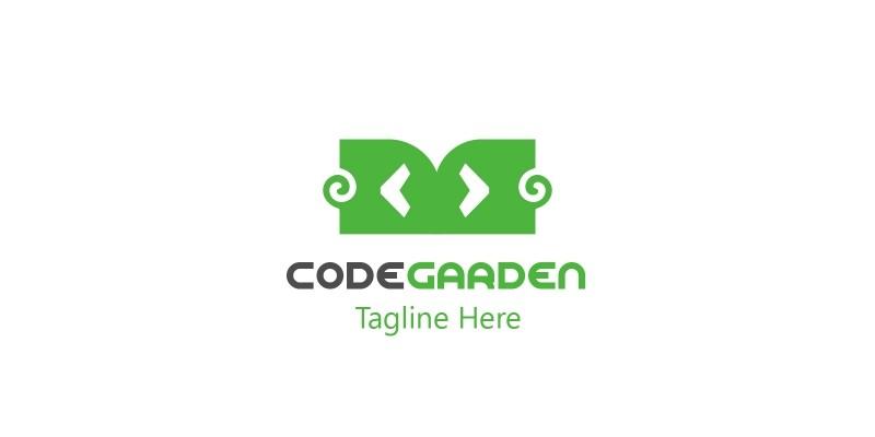 Code Garden Logo Design