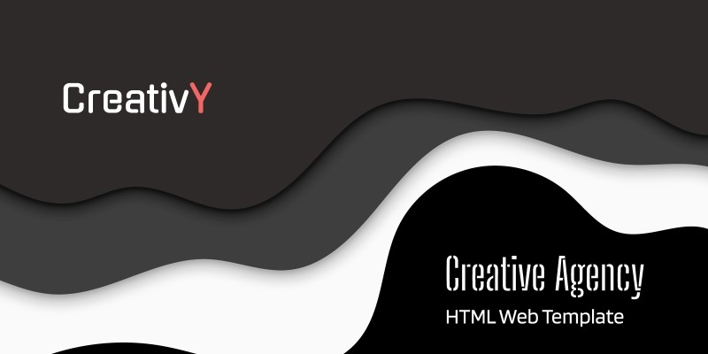 CreativY - Creative HTML Web Template