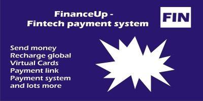 FinanceUp - Fintech Payment System