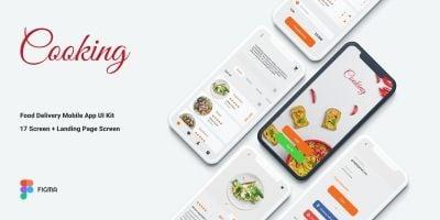 Food Delivery Mobile App UI Kit