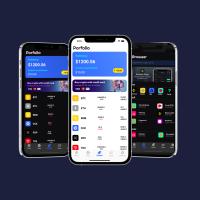 Cryptocurrency App  Flutter UI Kit