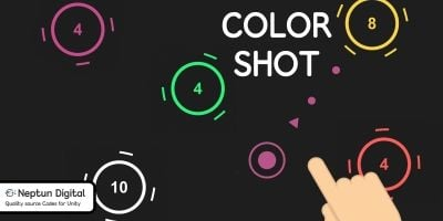Color Shot - 2D Game template for Unity