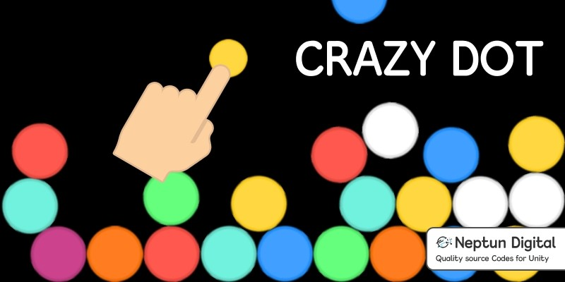 Crazy Dot - 2D Game template for Unity
