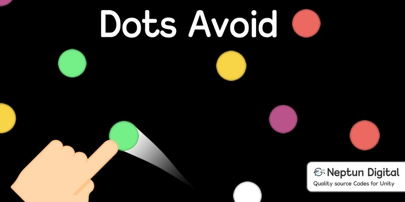 Dots Avoid - 2D Game template for Unity