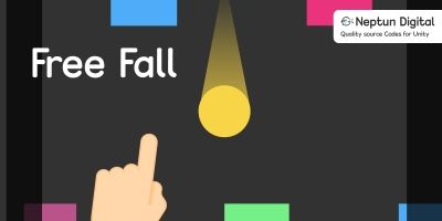 Free Fall - 2D Game template for Unity