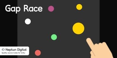 Gap Race - 2D Arcade Game Template for Unity
