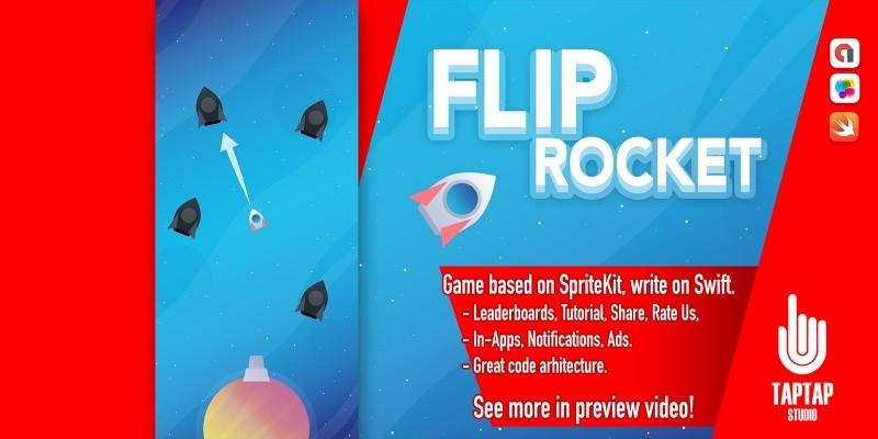 Flip Rocket - iOS App Source Code