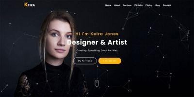 Keira - Personal Portfolio HTML Template