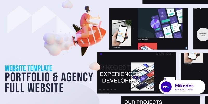 Portfolio And Agency  Full Website