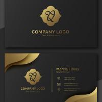 Geomec Modern Business Card Template