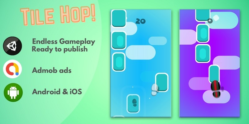 Tile Hop - Unity Game Template