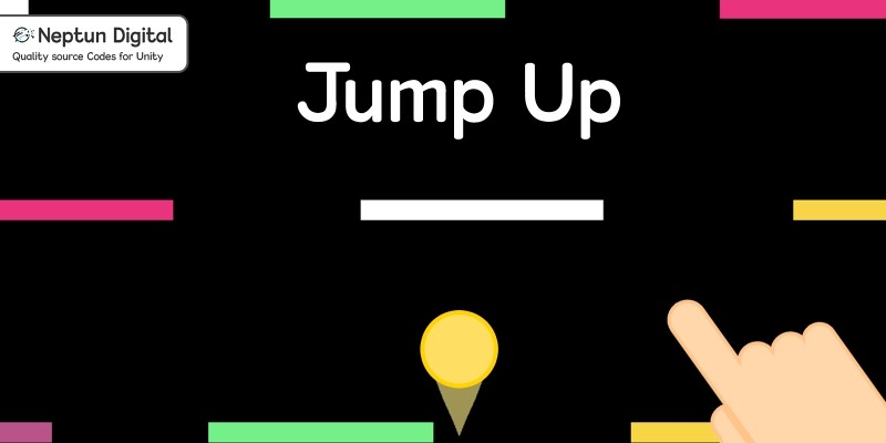 Jump Up - 2D Game Template for Unity